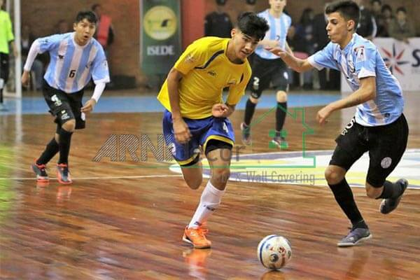 Lantai Vinyl Roll Lapangan Futsal