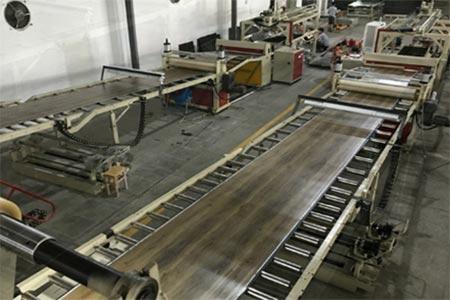 Pembuatan Lantai Vinyl